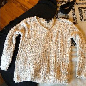 Off white fuzzy sweater